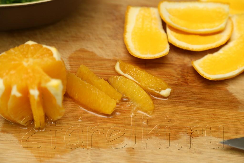Семга с апельсинами и халапеньо 3