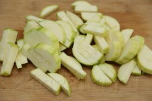 Овощное рагу с бамией (окрой) 3