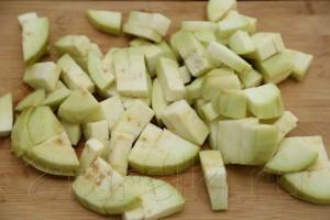 Овощное рагу с бамией (окрой) 2