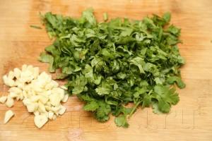 Овощное рагу с бамией (окрой) 12