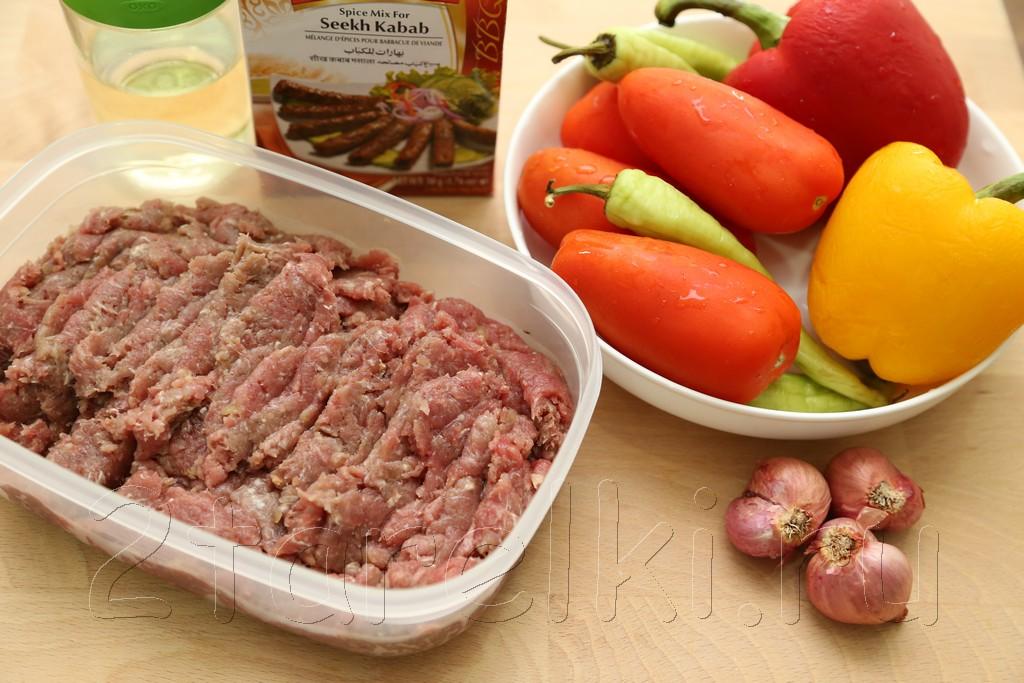 Кебабы с овощами по-турецки 1