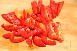 Салат из шпината с слабосоленой семгой 3