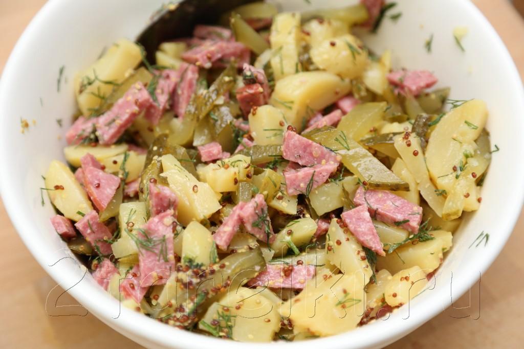 Закусочный салат «Мюнхенский»