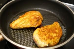 Куриное филе под яблочно-сырной корочкой 3