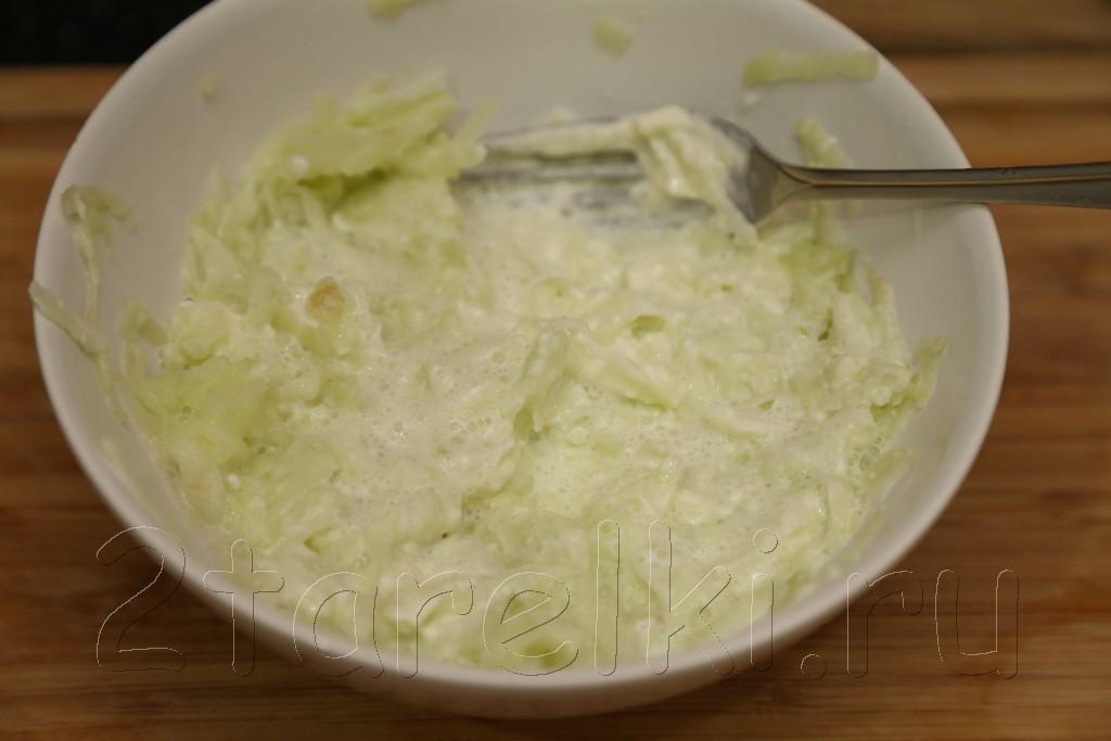 Куриное филе под яблочно-сырной корочкой 5
