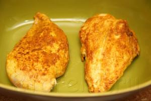 Куриное филе под яблочно-сырной корочкой 6