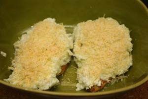 Куриное филе под яблочно-сырной корочкой 8