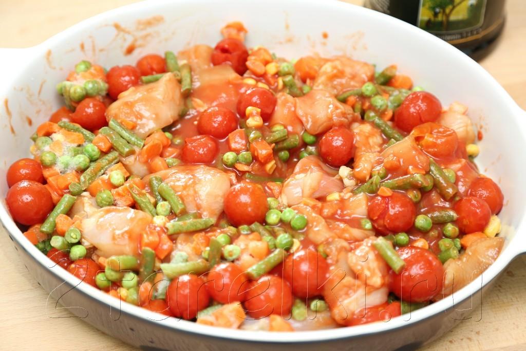 Салат из капусты с морковью и болгарским перцем и уксусом рецепт