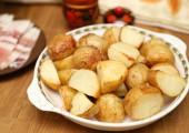 Печеная картошка на утином или гусином жире