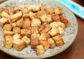 Тофу в медово-кунжутном соусе