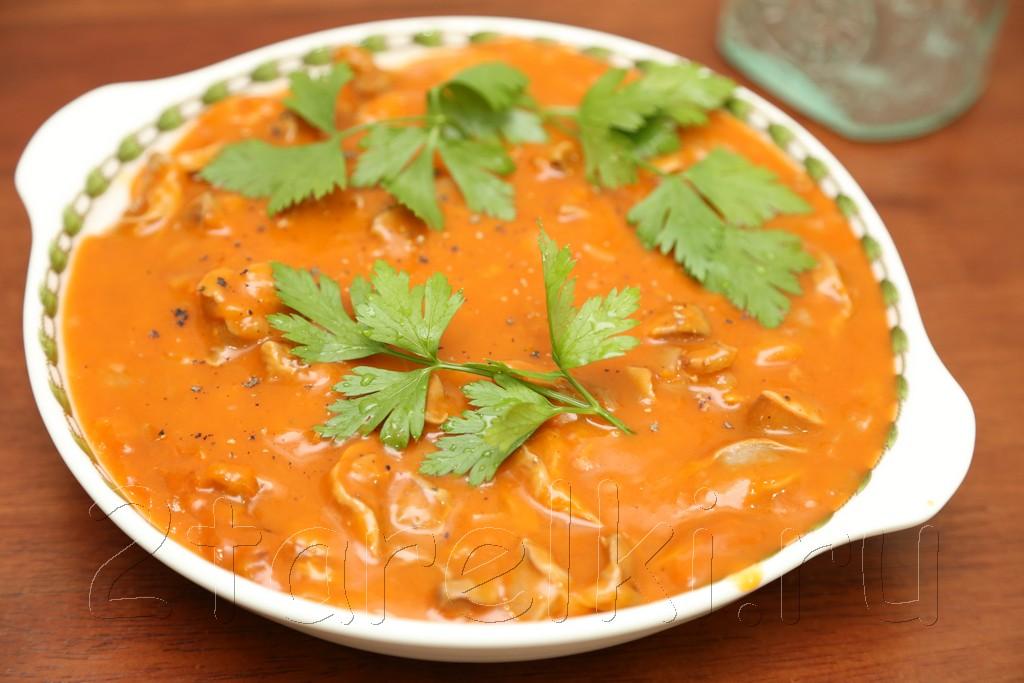 Куриные желудочки в томатном соусе 9