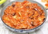 Жаркое из курицы с черносливом по-гречески