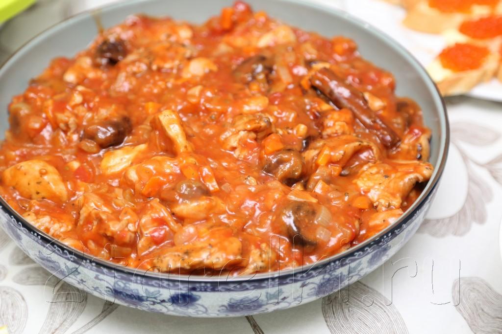 Жаркое из курицы с черносливом по-гречески 17