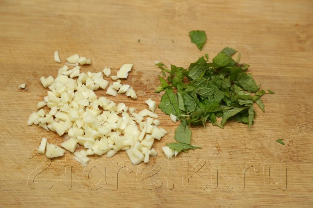 Баранина в мятно-чесночном маринаде с вустерским соусом 2