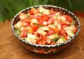 Овощной салат по-турецки