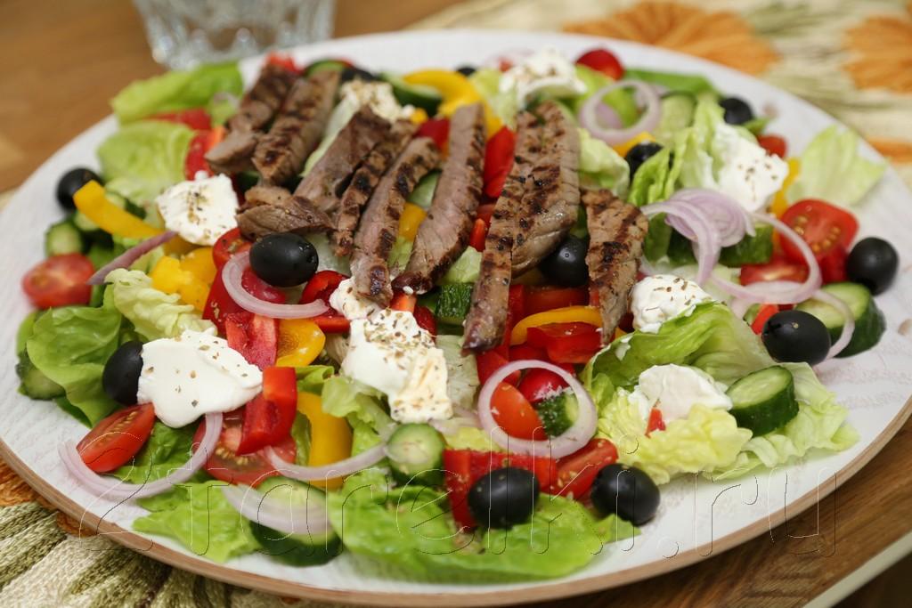 Гост салат греческий