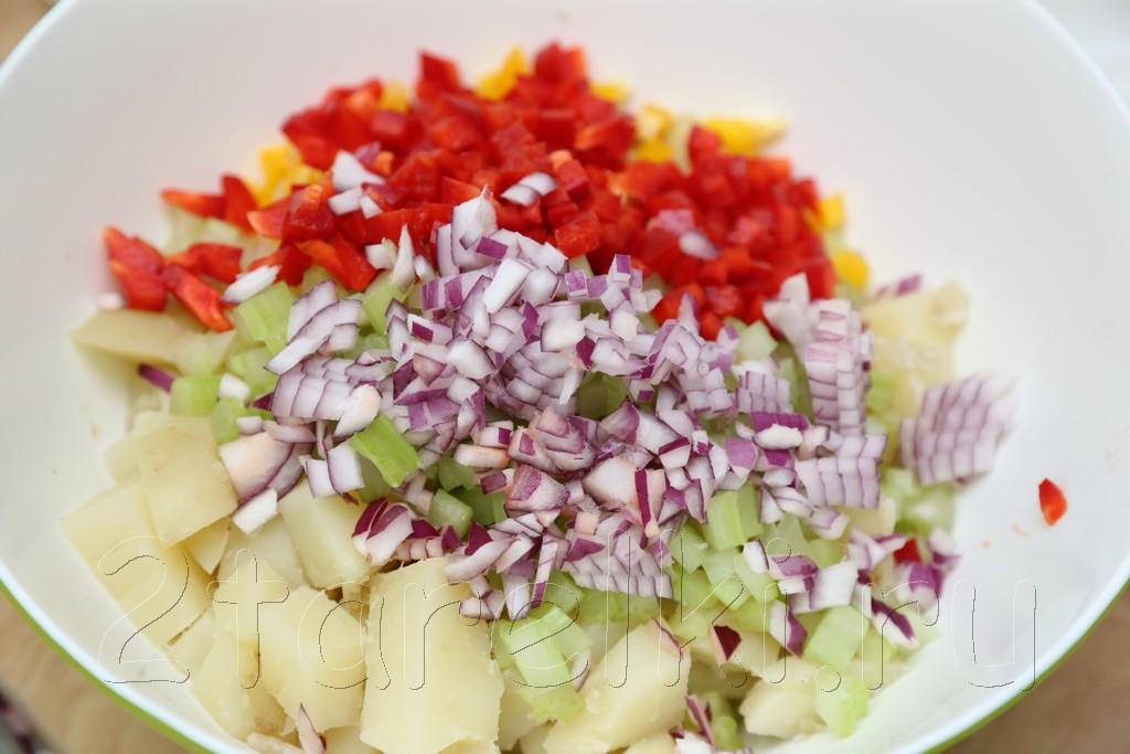 Американский картофельный салат 3