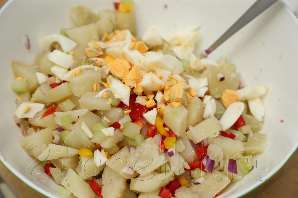 Американский картофельный салат 4