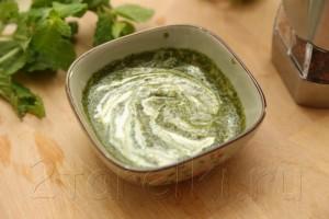 Жареная баранина с мятно-йогуртовым соусом 4