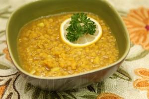 Суп из чечевицы с карри