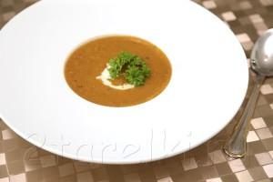 Суп-пюре из овощей-гриль