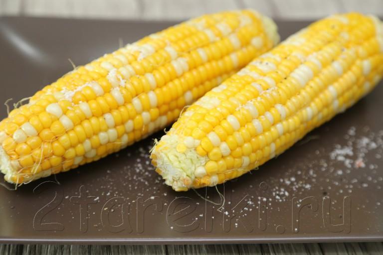 Просто быстрая и вкусная кукуруза
