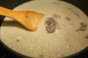 Тушеная говядина в сметанно-черносливовом соусе 7