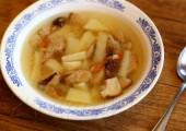 Дачный грибной суп