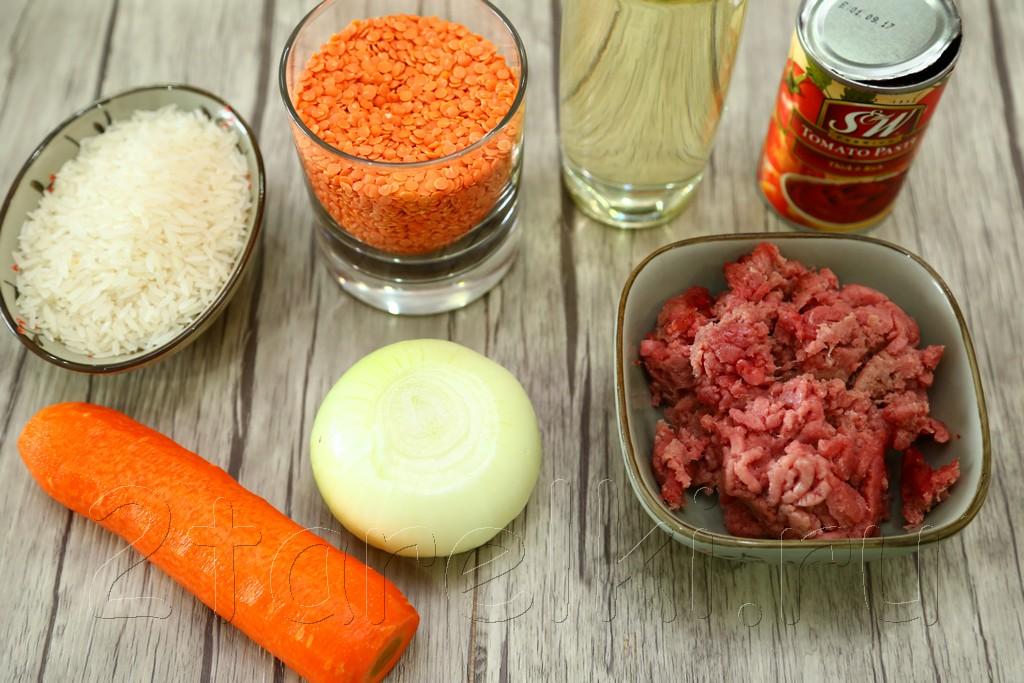 Суп с бараниной, рисом и чечевицей 1