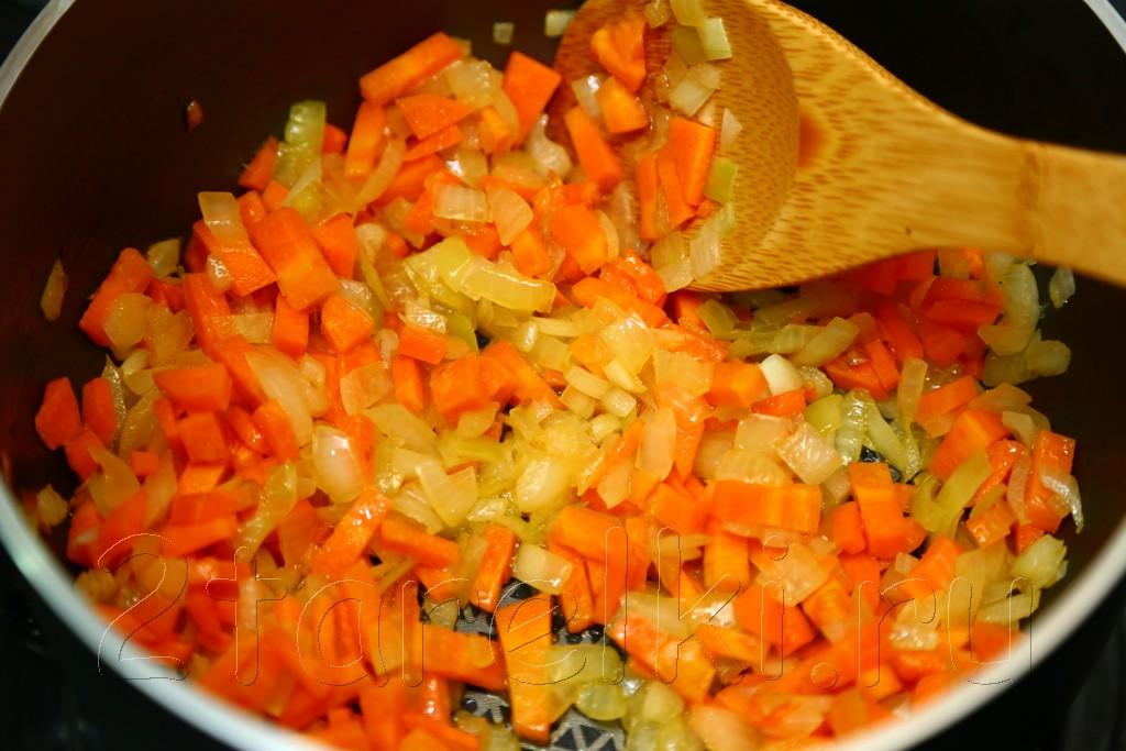 Суп с бараниной, рисом и чечевицей 4