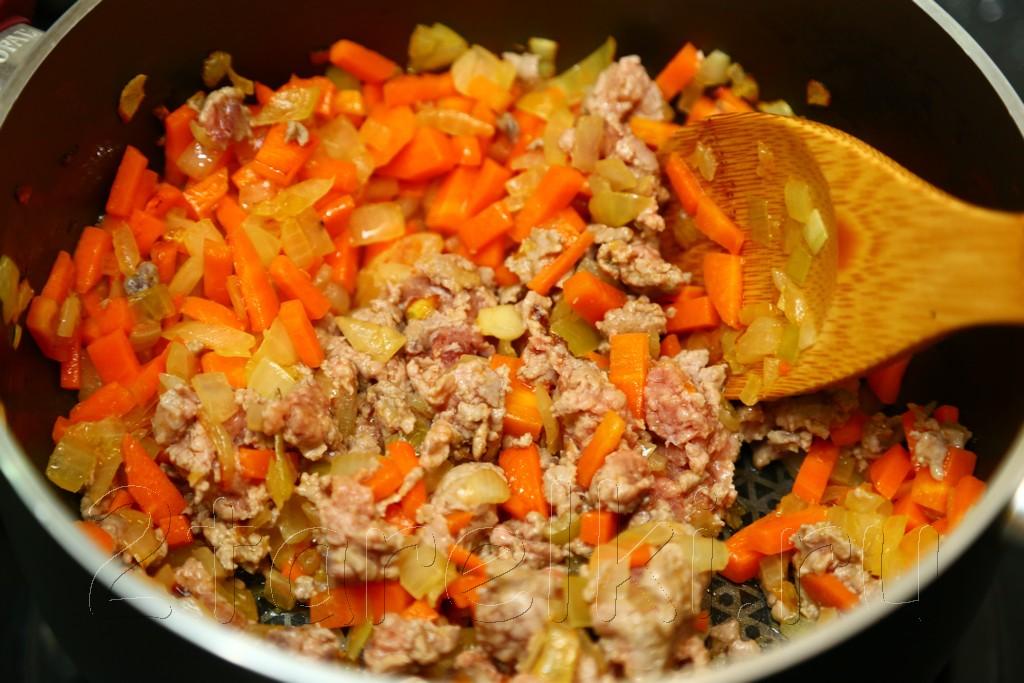 Суп с бараниной, рисом и чечевицей 6