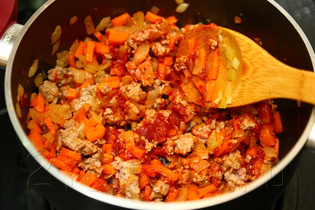 Суп с бараниной, рисом и чечевицей 7