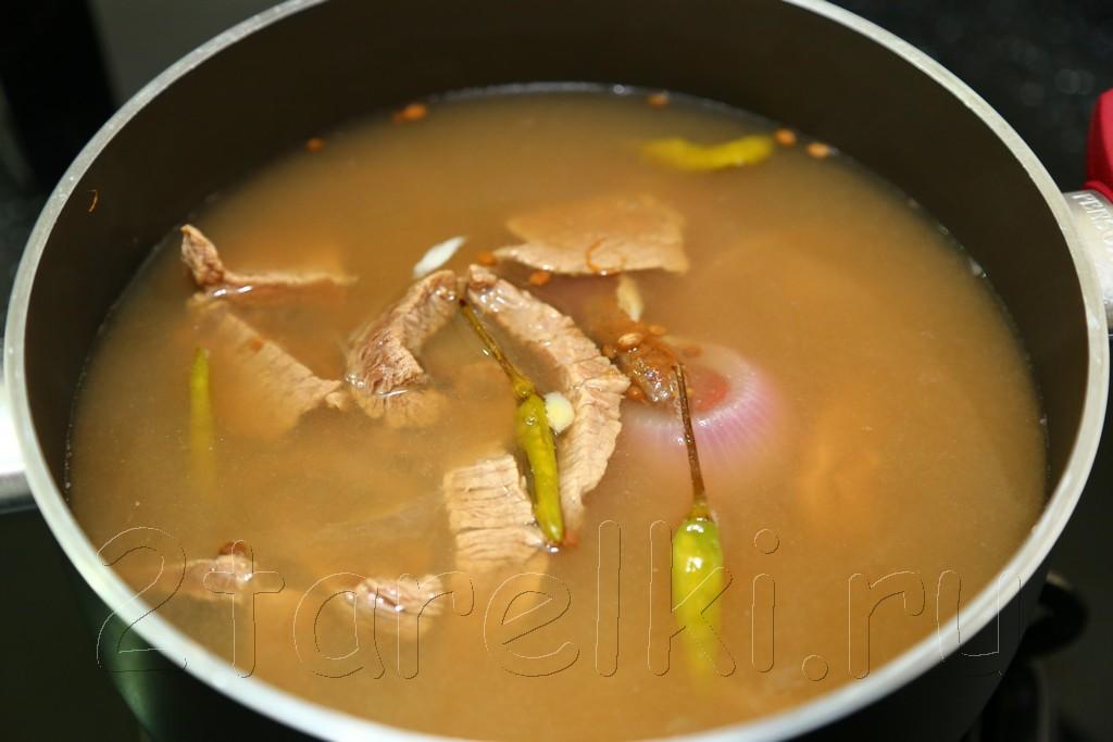 "Малайзийский суп ""Келантан"" 7"