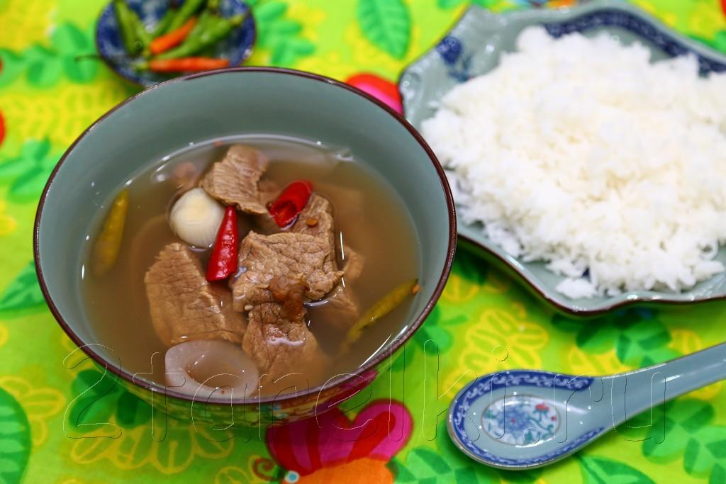 "Малайзийский суп ""Келантан"" 8"