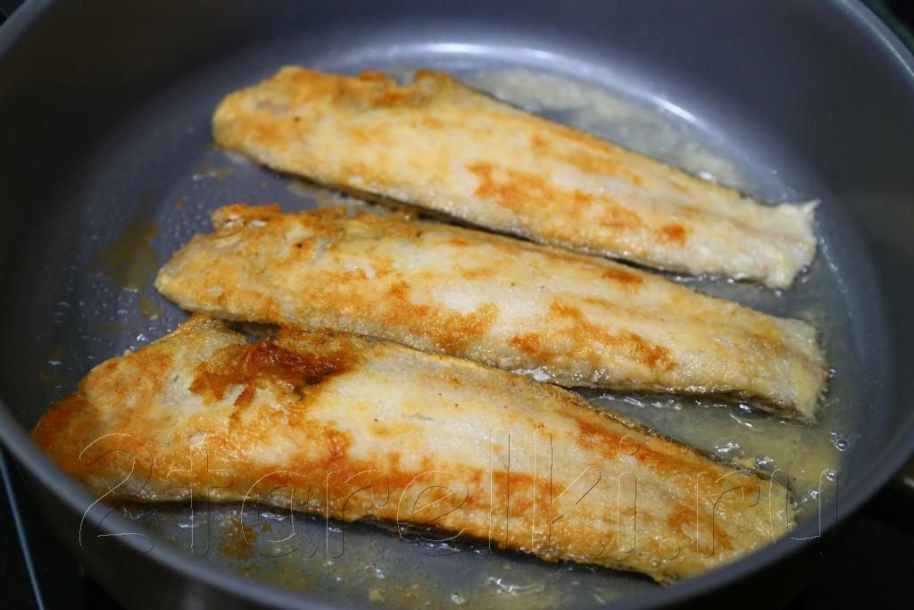 Филе морской рыбы в духовке рецепт