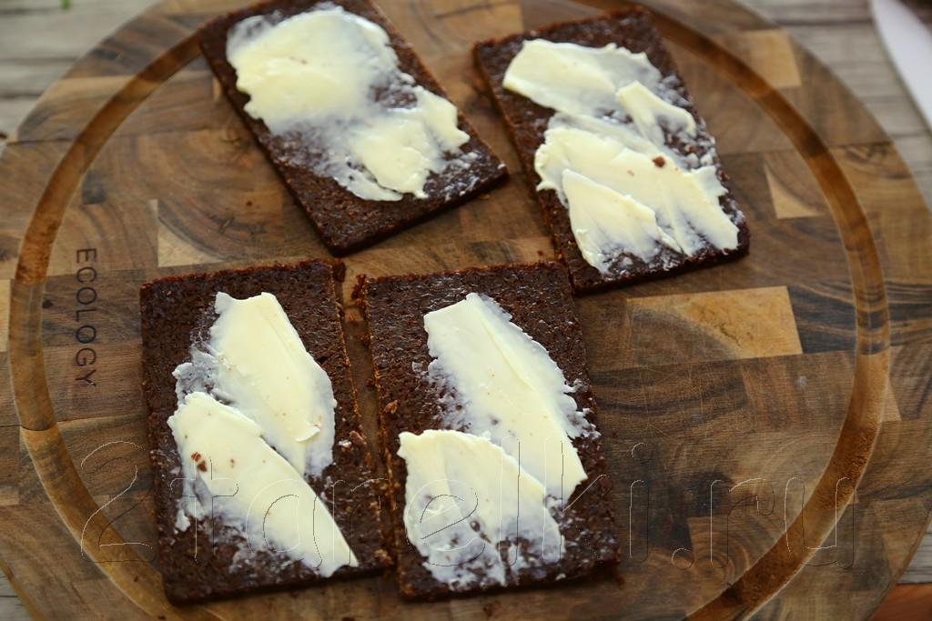 Шведские бутерброды с креветками 2