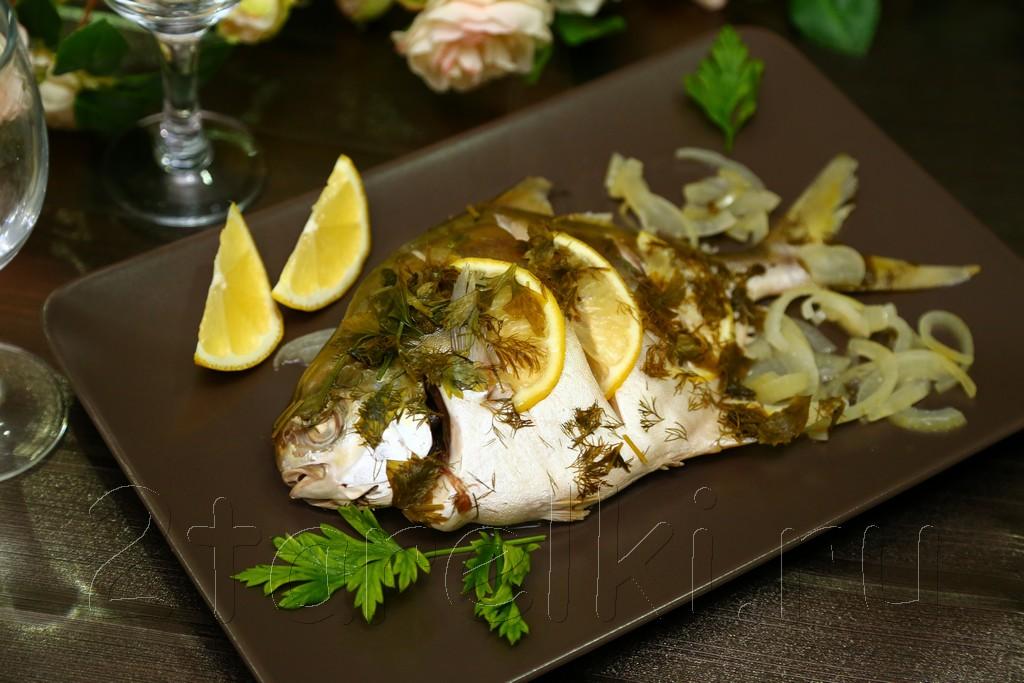 Рыба, припущенная в вине 7