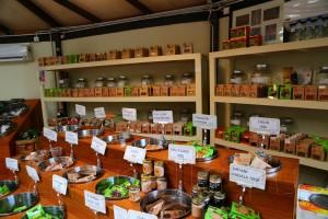 Магазин специй в Tropical Spice Garden на Пенанге