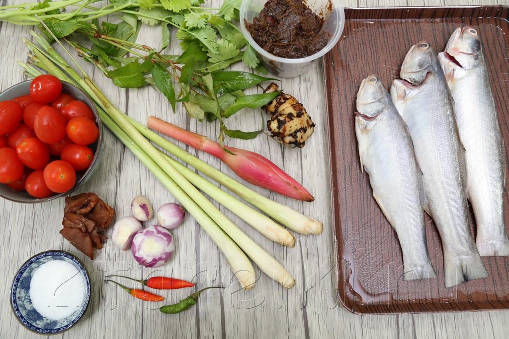 Рыбный суп с тамариндом по-малайзийски