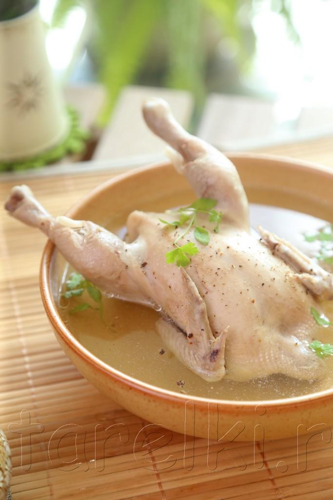 Бульон с цыпленком